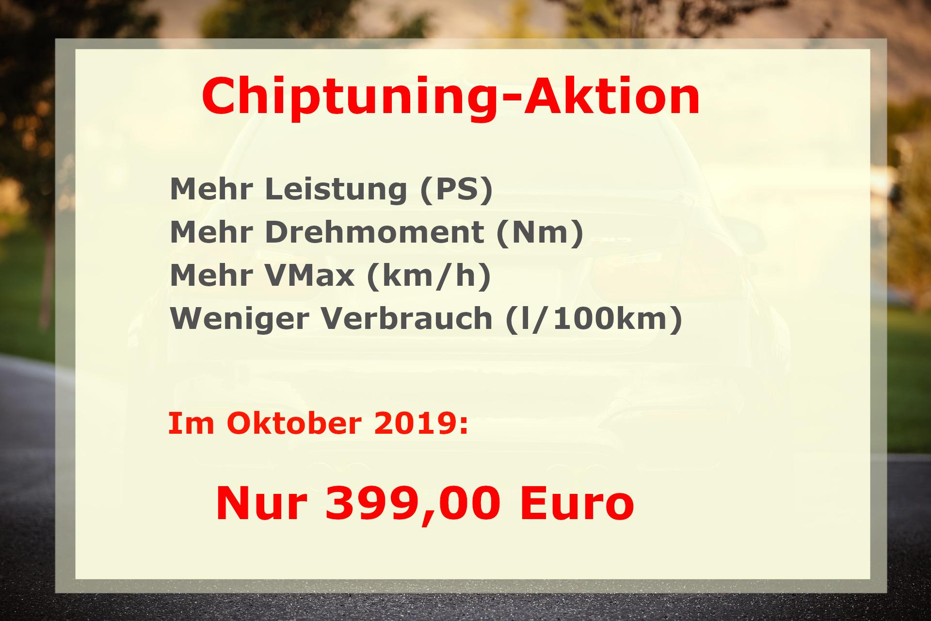 Chiptuning-Aktion im Oktober 2019 in Gummersbach
